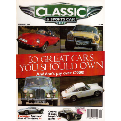 CLASSIC and SPORTS CAR   enero 1997