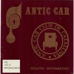 ANTIC CAR 6  2º trmestre 1979
