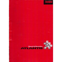Manual de recambios Derbi Atlantis año 2001