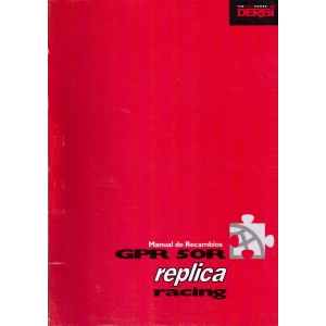 Manual de recambios Derbi GPR R50 replica racing año 2003