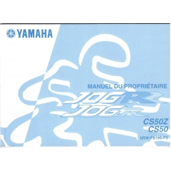 Manual de usuario Yamaha JOG R