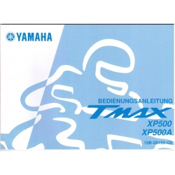 Manual de usuario Yamaha TMAX  XP500 y XP500A