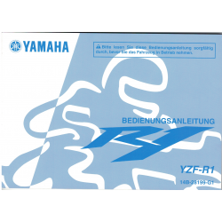 Manual de usuario Yamaha YZF-R1