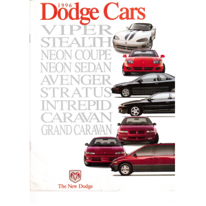 Catalogo  gama 1996 de Dodge