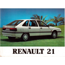 Manual de usuario Renault 21 (julio 1991)