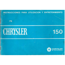 Manual de instrucciones Chrysler 150