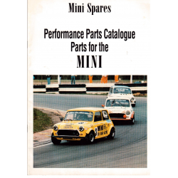 Performance Parts catalogue Parts for the MINI