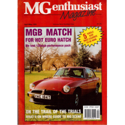 MG Enthusiast Magazine   abril/mayo 2001