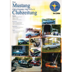 Revista Club Ford Mustang Alemán.  04/2006