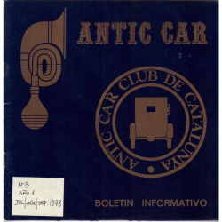 ANTIC CAR 3  3º trmestre 1978